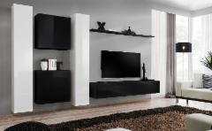 Sekcija Switch VI juoda/balta