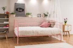 Miegamojo lova Birma rožinė Miegamojo lovos