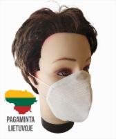Vienkartinės, apsaugines veido kaukės (3 sluoksnių), 20 vnt Namų apyvokos valikliai, plovikliai, apsauginės kaukės