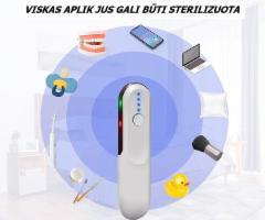 Gilaus spinduliavimo UV-C LED mobilus sterilizatorius