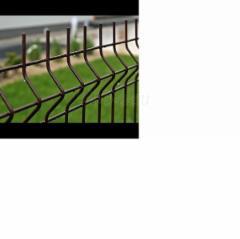 Tvoros segmentas karštai cinkuotas 200x50x5x2500x1230mm ,rudos spalvos