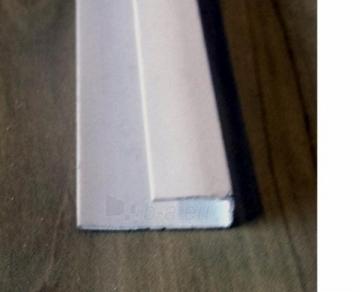 Profilis pradžios PVC dailylentėms Waksline P A2 / SKV-1, baltas