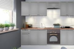 Kitchen set LINEA 240 (be stalviršio) Kitchen furniture sets