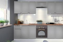 Kitchen set LINEA 260 (be stalviršio) Kitchen furniture sets