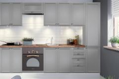 Kitchen set LINEA 280 (be stalviršio) Kitchen furniture sets