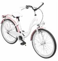 Dviratis AZIMUT Julie 24 Nexus3 2020 white-pink Paauglių dviračiai