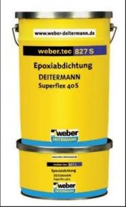 Hidroizoliacija epoksidinė Weber.tec 827 S 2kg Pamatų hidroizoliacija
