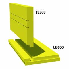 Plokštuminiai pamatai XPS Finnfoam LS-300/100 2500 x 600 x 100 Ekstruzinis polistirolas (XPS)
