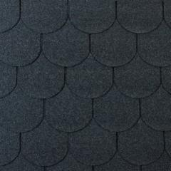 Bituminės čerpės TANGO SUPER, juoda Битумная черепица