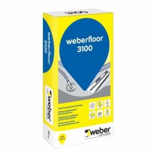 Grindų išlyginamasis mišinys weber.floor 3100 0 - 10 mm C30-F7 20 kg Kompensācijas maisījumi