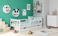 Vaikiška lova MARINELLA balta. Baldai sandėlyje.