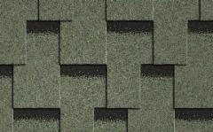 Bituminės čerpelės ICOPAL Plano Claro, žalia Bituminės čerpelės