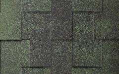 Bituminės čerpelės ICOPAL Plano Claro Antik, žalia Bituminės čerpelės