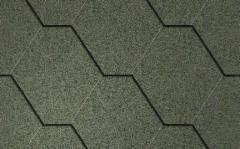 Bituminės čerpelės ICOPAL Plano PRO, žalia Bituminės čerpelės