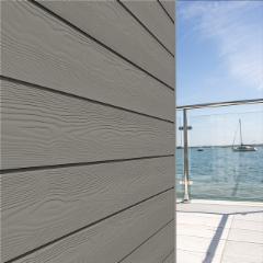 Fibrocementinė dailylentė 'Cedral Click' C56 (Mineralų vėsi) Tekstūrinis paviršius Pluoštinio cemento apkala (fasadui)