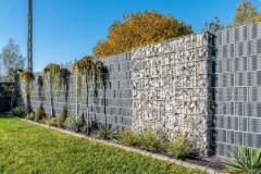 Juosta segmentinėms tvoroms 19x255cm, Pilkos spalvos Paukošanas piederumi