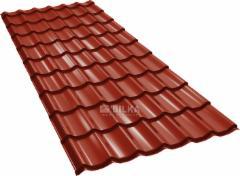 Čerpinio profilio skarda BILKA Clasic (0,50 mm Grande Mat) Profile tile tin sheets