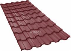 Čerpinio profilio skarda BILKA Iberic (0,60 mm matinis) Profile tile tin sheets