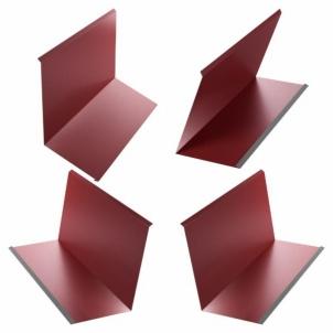 Kamino apskardinimo komplektas 0,50 mm blizgus ( 4 dalių ) Metalinei component (tin) coverings