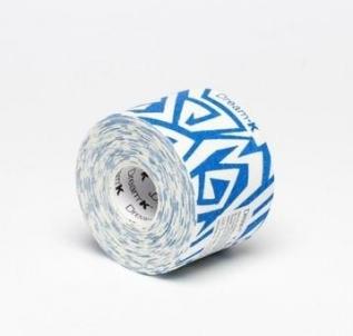 Kinezioteipas Dream raštuotas-baltas/mėlynas 5x5cm