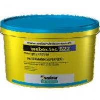 Hidroizoliacija polimerinė vonioms ir dušams Weber.tec 822 šviesiai pilka 8 kg Damp proofing blends