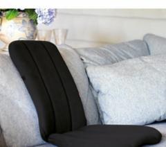Nešiojama sėdynė SISSEL® DorsaBack, juoda Regulēšanas instruments sēdes