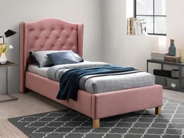 Miegamojo lova Aspen 90 aksomas Gultas
