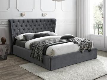 Miegamojo lova Carven 160 aksomas Miegamojo lovos