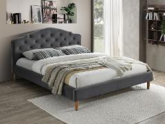 Miegamojo lova Chloe 160 aksomas Miegamojo lovos