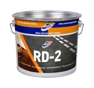 Dažai žymėjimo RD-2 geltoni 4kg Epoksidiniai dažai