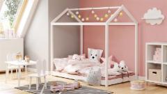 Vaikiška Lova YOGI balta Vaikiškos lovos