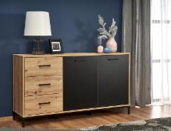 Svetainės komoda Raven KM-1 Chest of drawers for the living room