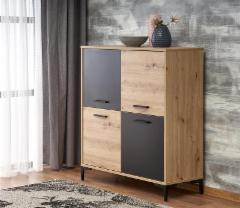 Svetainės komoda Raven KM-2 Chest of drawers for the living room