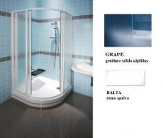31170100ZG SKCP4-90 BALTAS+GRAPE, shower square