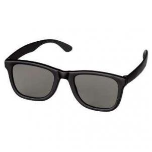 3D akiniai HAMA POLARIZED 3D GLASSES, BLACK/MATT 3D, VR brilles