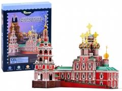 3D dėlionė bažnyčia Novgorod Dėlionės vaikams