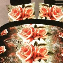 3D patalynės komplektas Elegantiškas Sapnas, 4 dalių, 200x220 cm