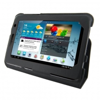 4World dėklas-stovas skirtas Galaxy Tab 2, plonas, 7, juodas Tablet pc accessories