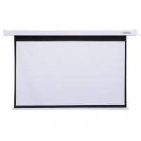 4World Elektrinis projektoriaus ekranas, remote, 144x81 (16:9) Matt White Projectors