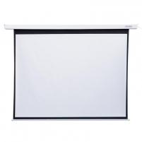 4World Elektrinis projektoriaus ekranas, remote,170x128 (4:3) Matt White
