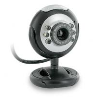 4World Internetinė kamera 2.0MP USB 2.0 su LED apšvietimu  mikrofon, universali Internetinės kameros