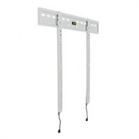 4World LCD/PDP sieninis laikiklis 30- 50 fiksuotas SLIM TV svoris iki 65kg WHT