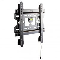 4World LCD sieninis laikiklis 15- 37 fiksuotas, SLIM, TV svoris iki 45kg BLK