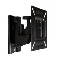 4World Sieninis LCD 15-22 laikiklis pasukamas/palenkiamas, TV iki 15kg BLK