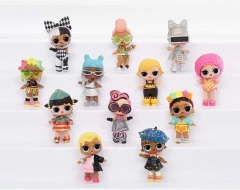564836 L.O.L. Surprise! Collectable Fashion Dolls - With 8 MGA