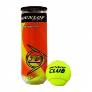 603163 dunlop club championship teniso kamuoliukai 4 vnt. Lauko teniso kamuoliukai