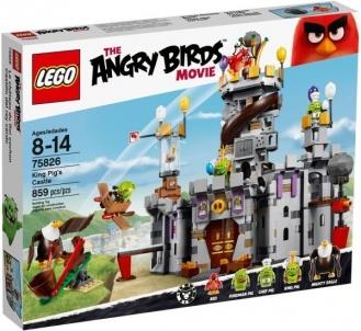 75826 LEGO Angry Birds pilisк, 8-14 m. NEW 2016!