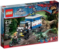 75917 LEGO Jurassic World Raptor pyktis, nuo 6 iki 12 metų NEW 2015! Lego bricks and other construction toys