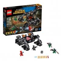 76086 LEGO® Super Heroes Teisingumo lyga, mūšis tunelyje, 7-14 m. NEW 2017! LEGO ir kiti konstruktoriai vaikams