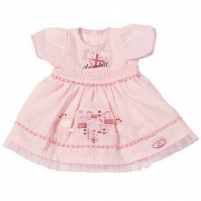 792933 R ПЛАТЬЕ РОЗОВОЕ BABY ANNABELL Zapf creation Toys for girls